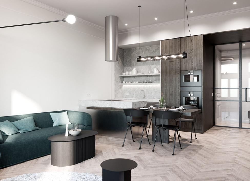 Luxusní byt na prodej - Praha 2 - Vinohrady - 61m 0