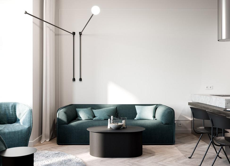 Luxusní byt na prodej - Praha 2 - Vinohrady - 55m 1