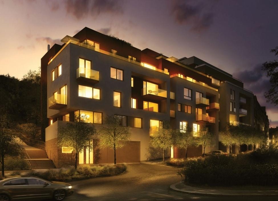 Luxusní byt s balkonem, Podolí 76m 0