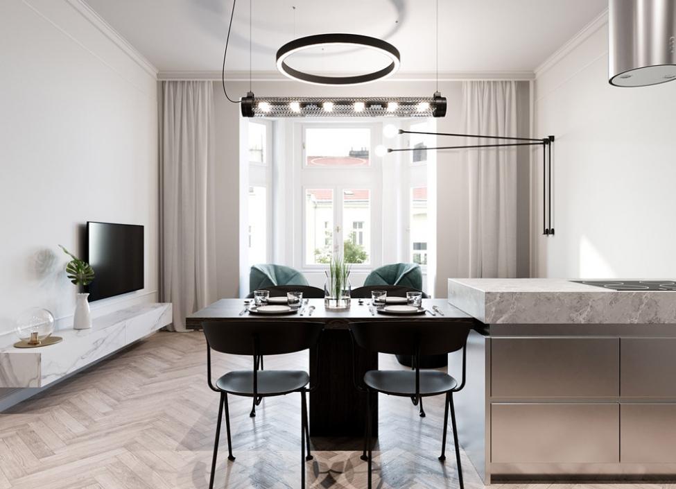 Luxusní byt na prodej - Praha 2 - Vinohrady - 56m 1