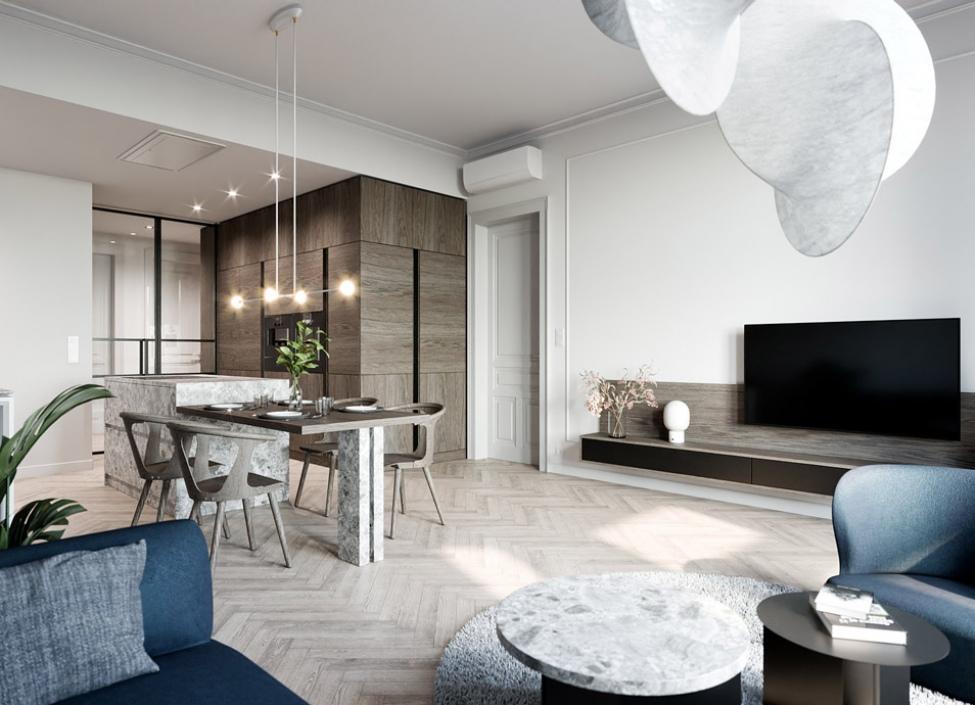 Luxusní byt na prodej - Praha 2 - Vinohrady - 122m 0