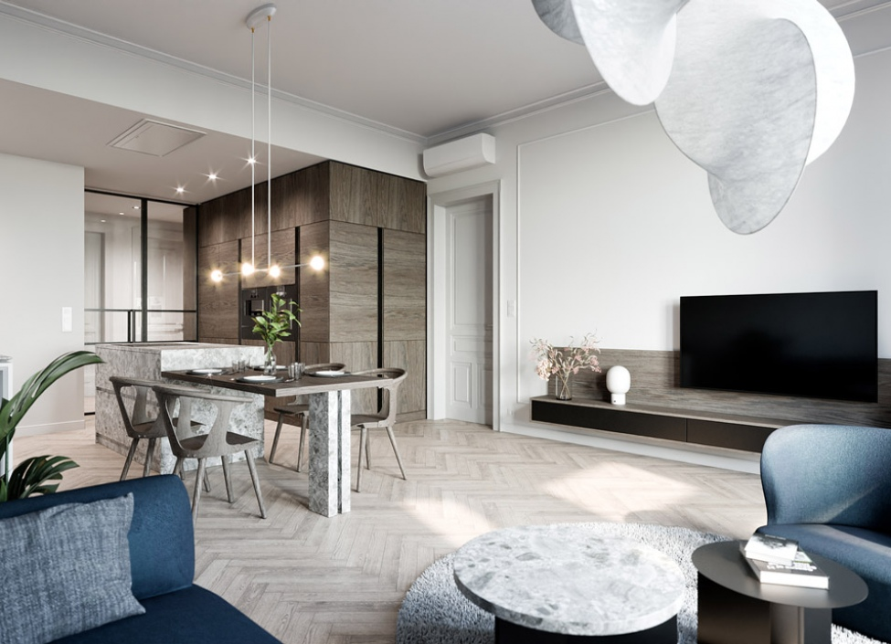 Luxusní byt na prodej - Praha 2 - Vinohrady - 126m 0