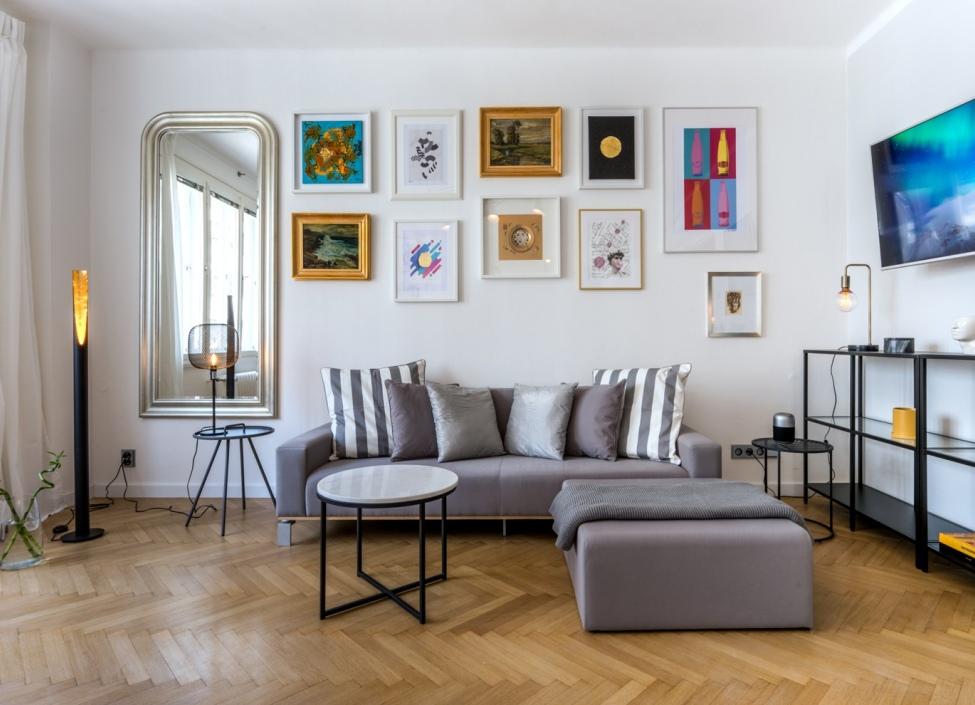 Pronájem luxusního bytu Praha 1 - 55m 1