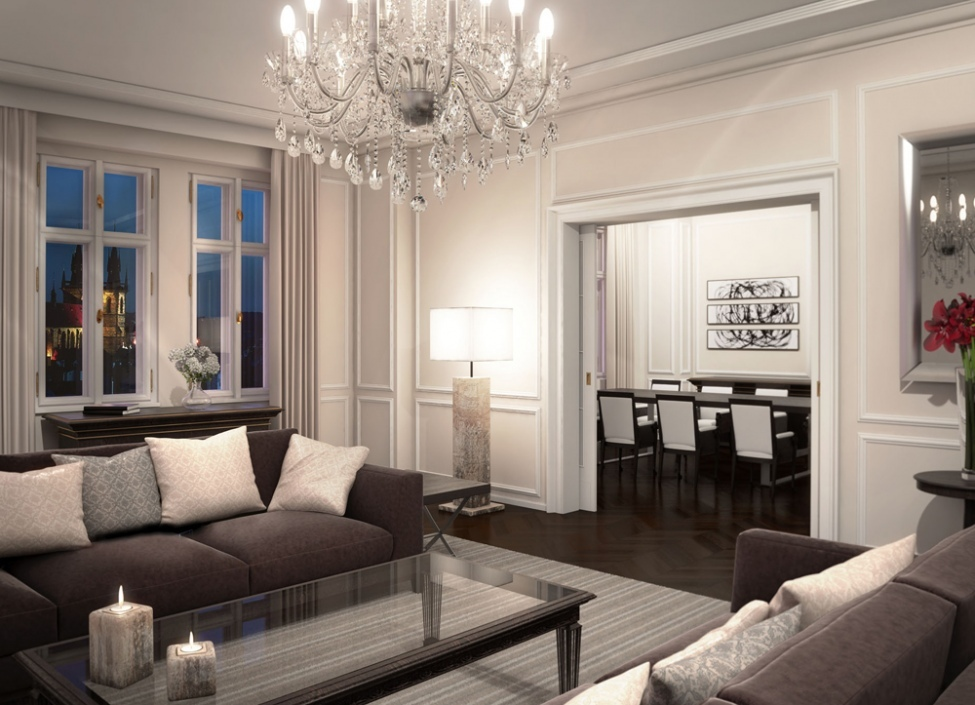 Luxusní byt v centru 71m 1