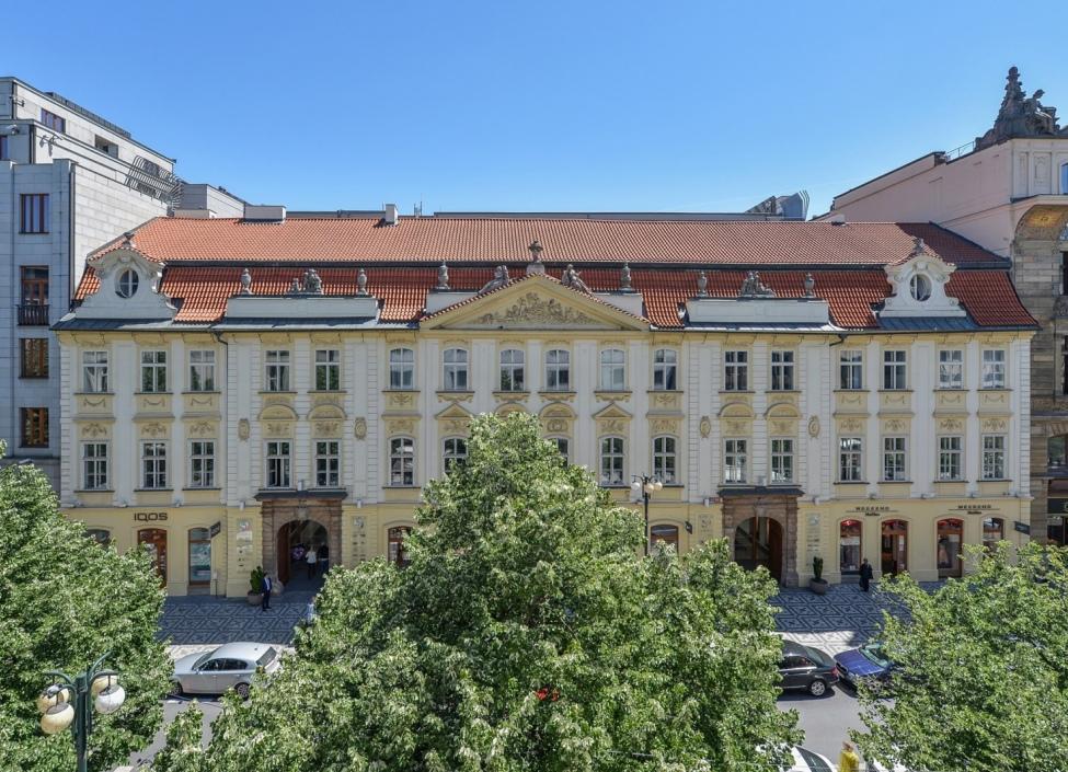 Kancelář k pronájmu v centru Prahy - 235m 0