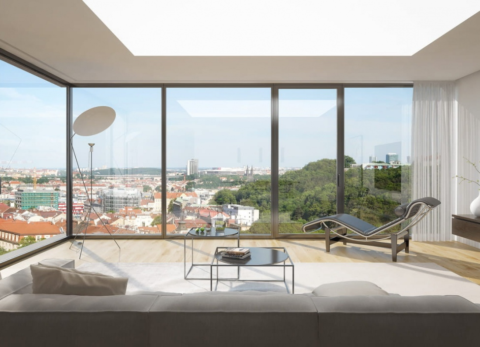 Luxusní byt na prodej - Praha 5 - Smíchov 242m 1