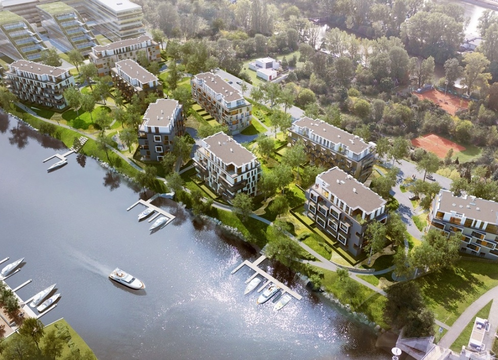 Byt u řeky s terasou 54m 0
