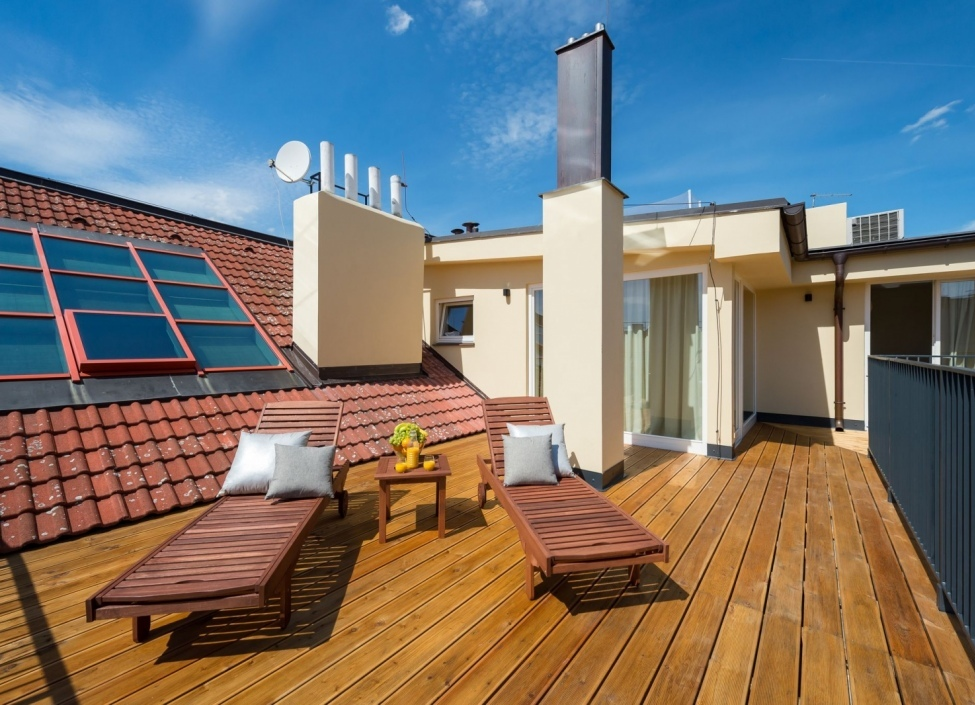 Luxusní loftový byt s terasou Praha 1 - 261m 1