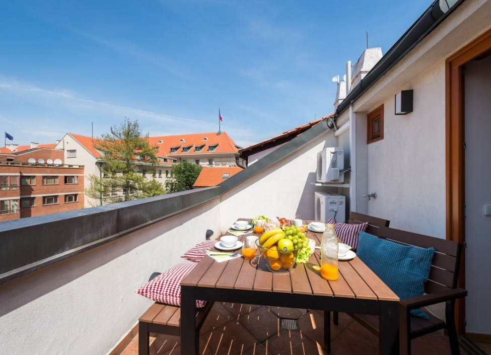 Apartment with a terrace in Hradcany Prague 1 - 196m 1