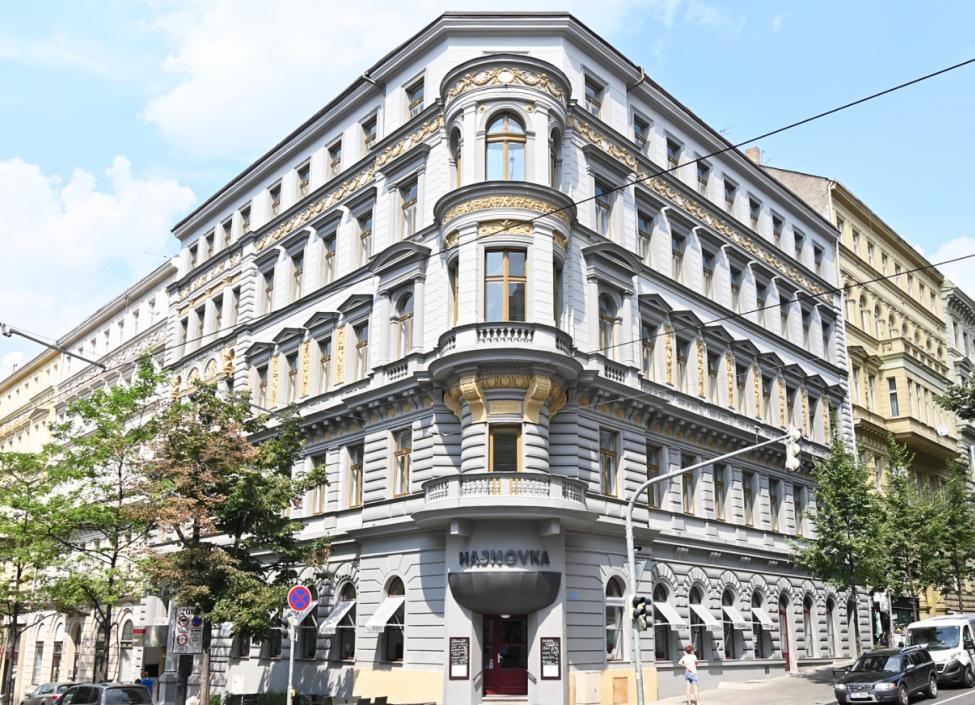 Luxusní kancelář k pronájmu v centru Prahy - 130m 1