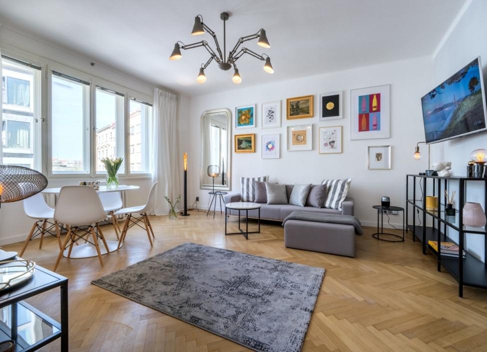 Pronájem luxusního bytu Praha 1 - 55m 0