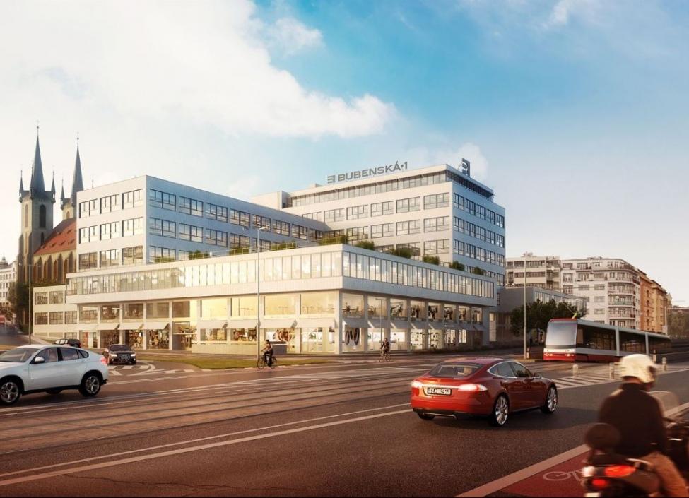 Obchodní a kancelářské prostory k pronájmu, Praha 7 - 1,758m2 1