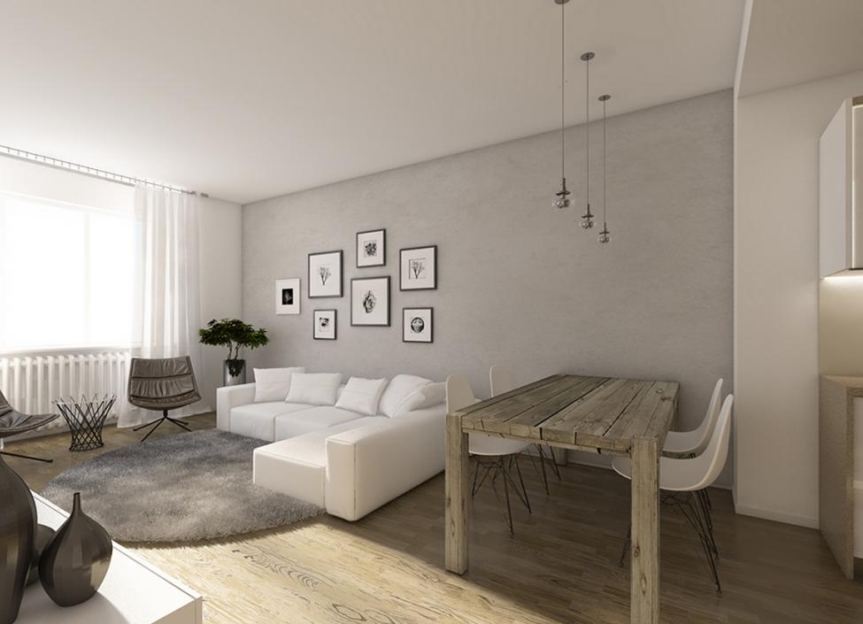 Luxusní byt Praha 4 - 92m 1