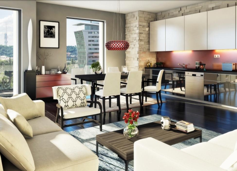 Luxusní byt Praha 7 - 136m 0