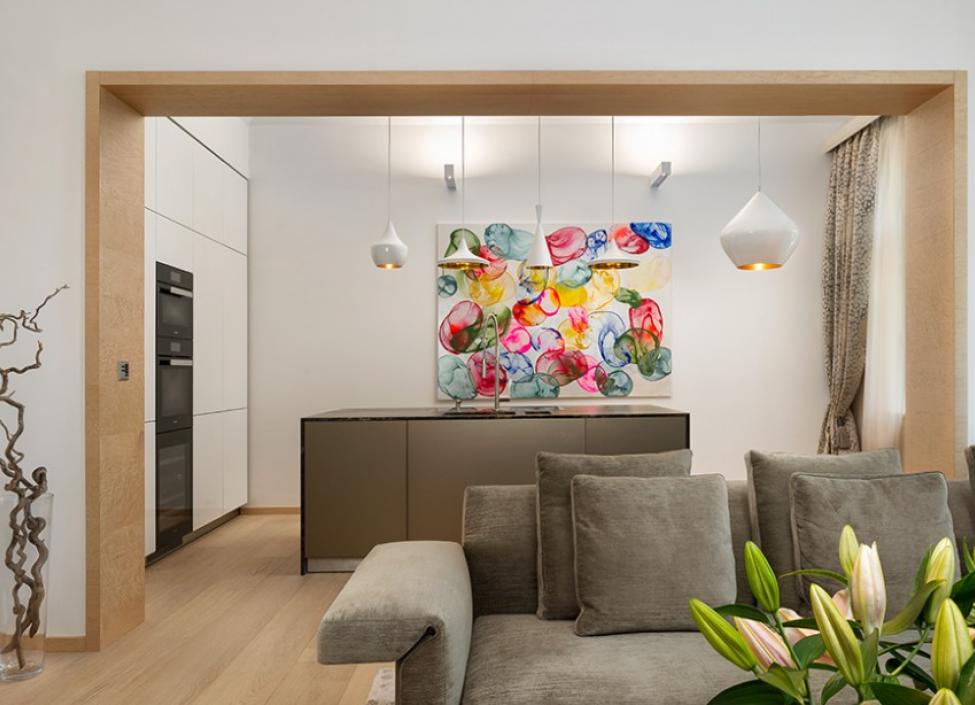 Luxusní byt Janáčkovo nábřeží 162m 1