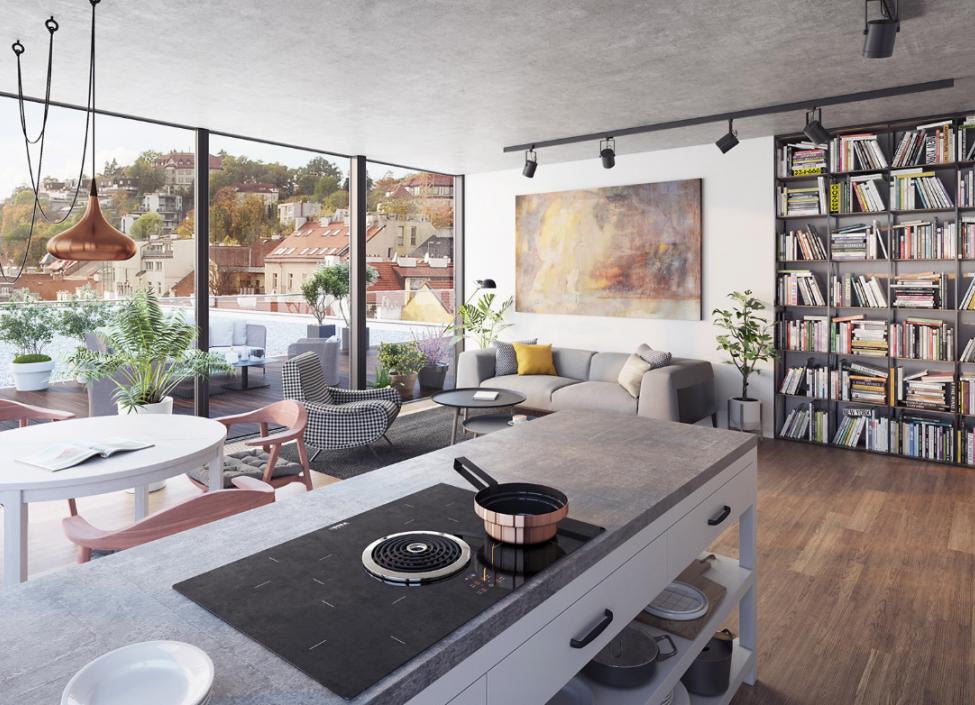 Luxury apartment for sale in Prague 5 - 121m 0