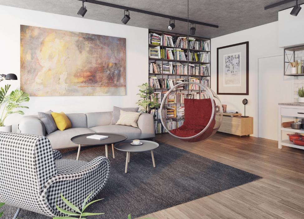 Luxusní byt na prodej Smíchov - Praha 5 - 57m 1