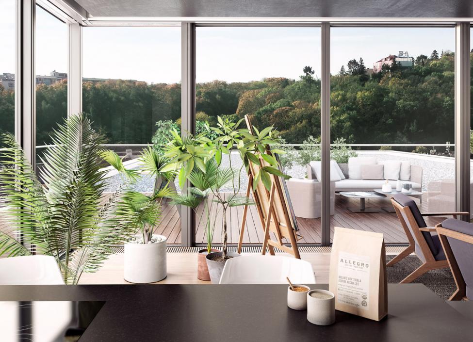 Luxusní byt na prodej Smíchov - Praha 5 - 95m 1