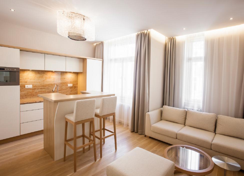 Luxusní byt na pronájem - Praha 1 - Josefov - 47m 0