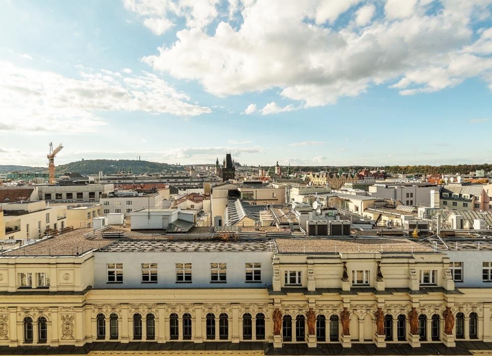 Luxusní kancelář s terasou Praha 1 - 321m 1