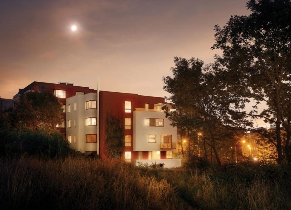 Luxusní byt s balkonem, Podolí 76m 1