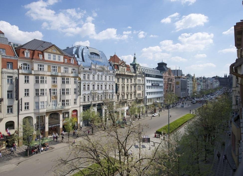 Byt s balkonem na Praze 1 - 100m 0