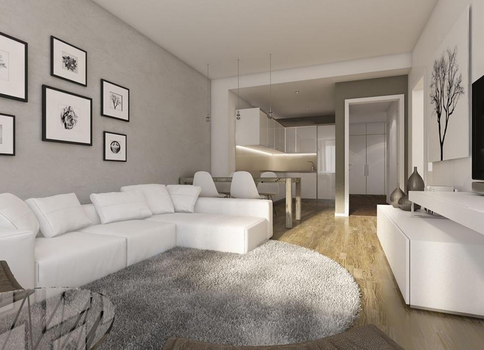 Luxusní byt balkónem 90m 1