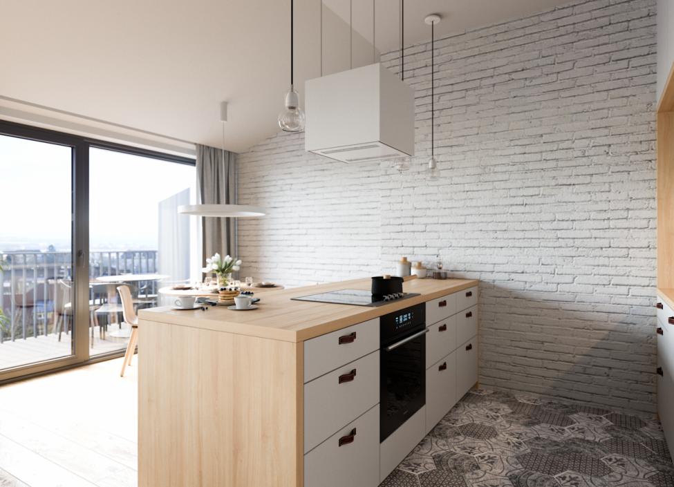 Luxury apartment for sale Prague 3 - 63m 0