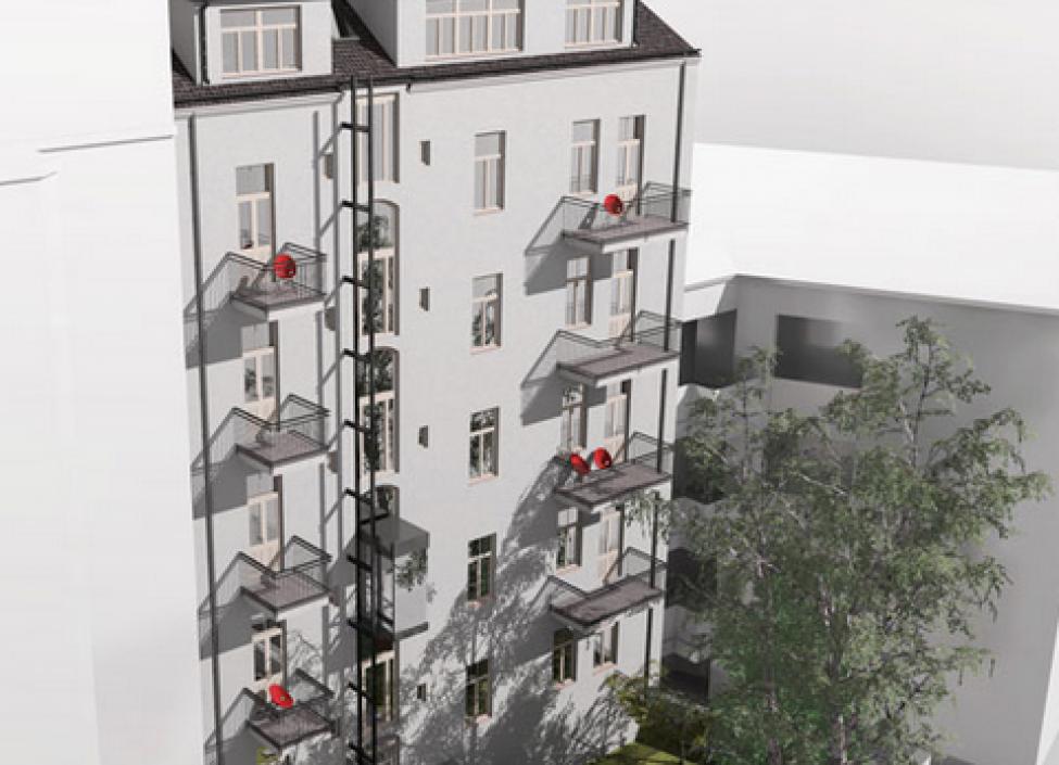 Byt s balkonem 122m 1