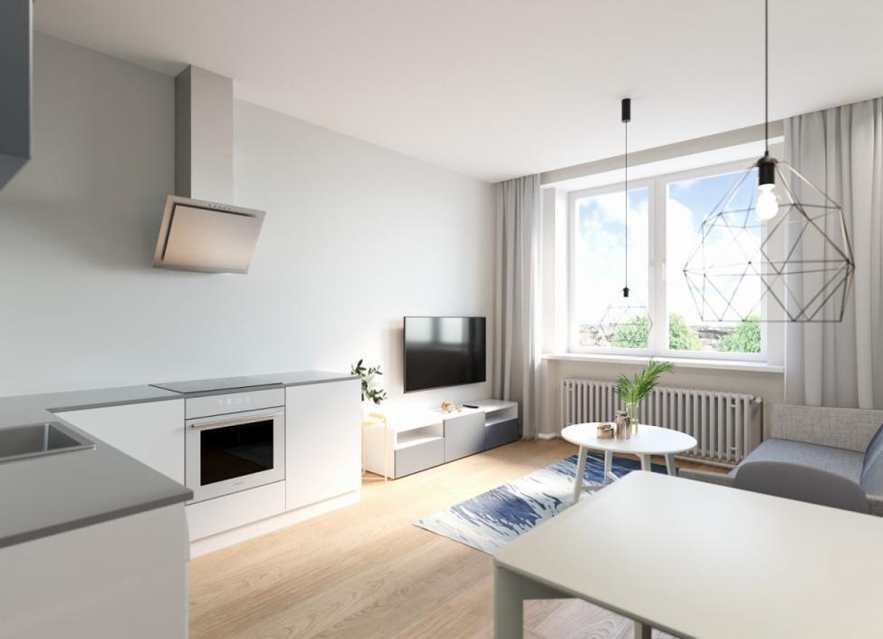 Byt na prodej - Praha 8 - Libeň - 37m 1