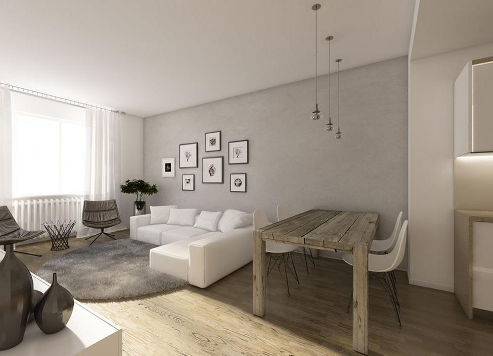 Luxusní byt terasou Podolí 186m 1