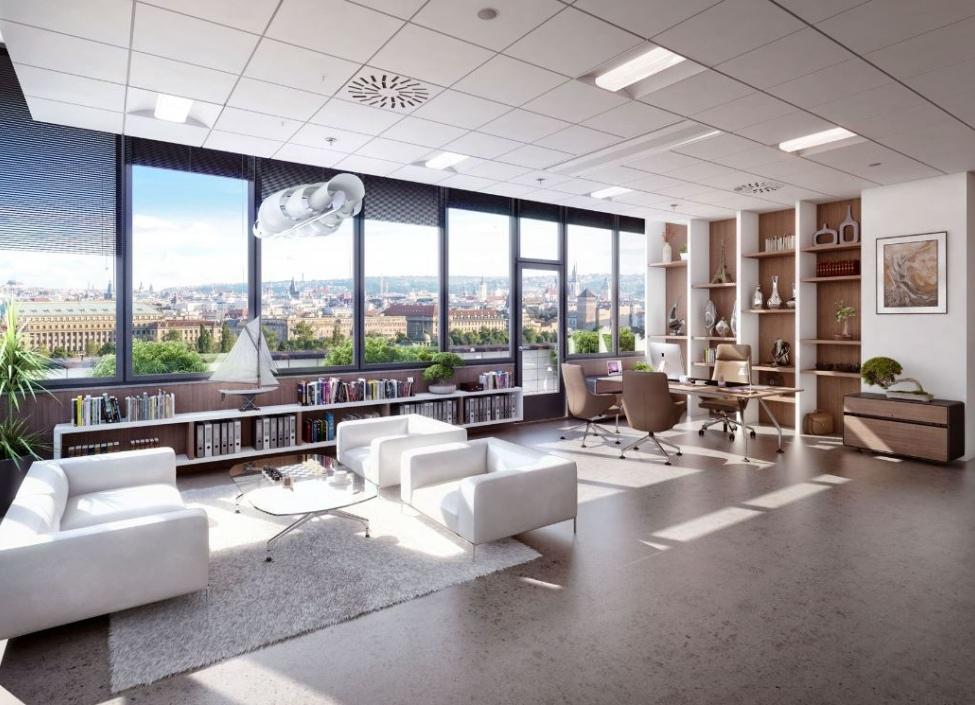 Obchodní a kancelářské prostory k pronájmu, Praha 7 - 1,758m2 0