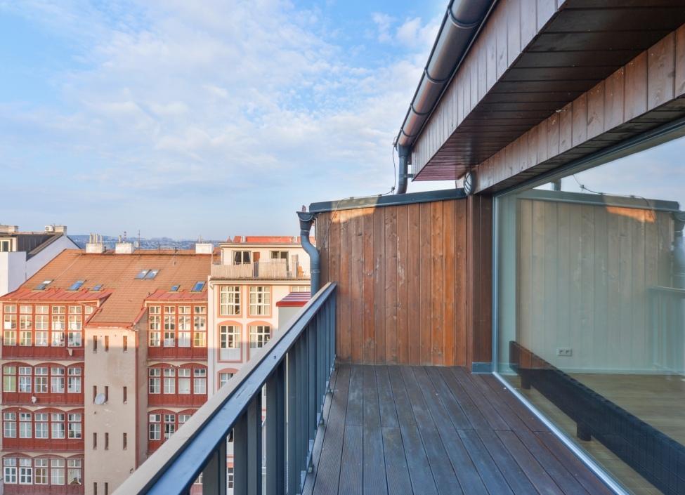 Prodej bytu s terasou Praha 7 - Bubeneč - 130m 0