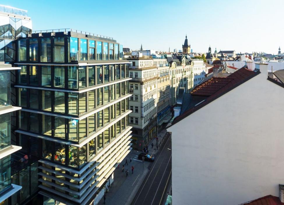 Pronájem kancelářských prostor Praha 1 - 126m 1