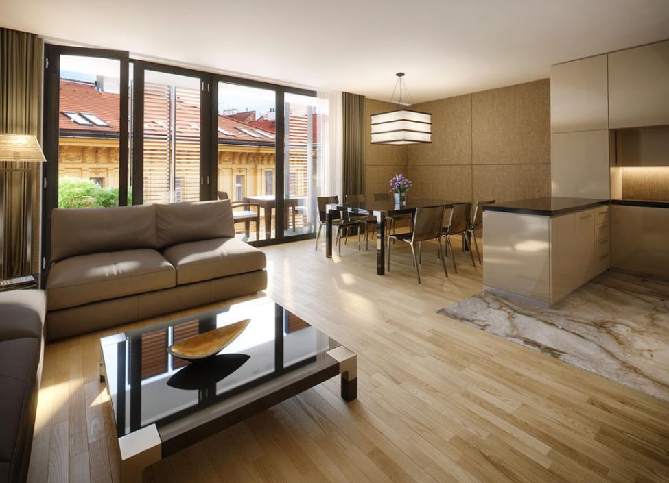 Luxusní byt Praha 5 - 107m 0