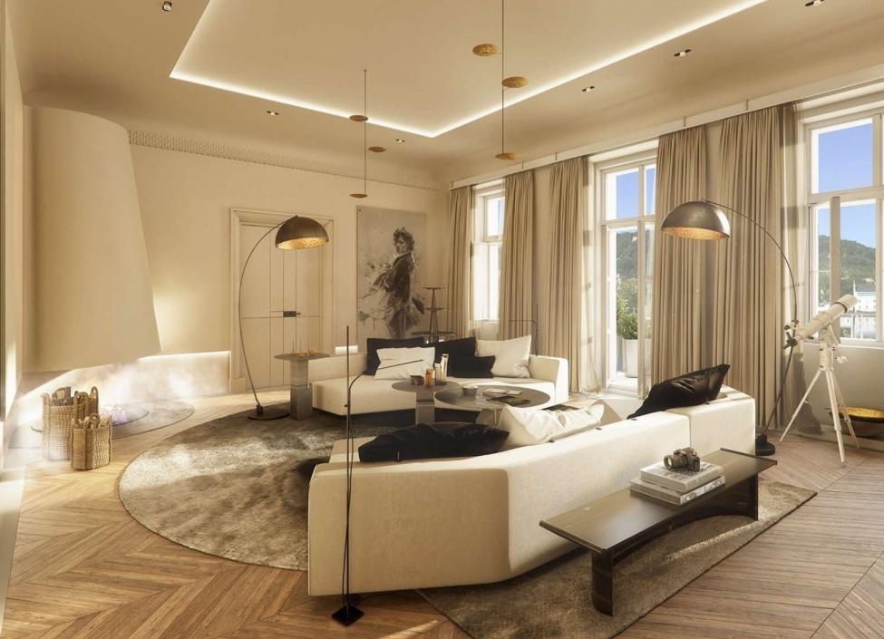 Luxusní byt na Smetanově nábřeží 164m 0