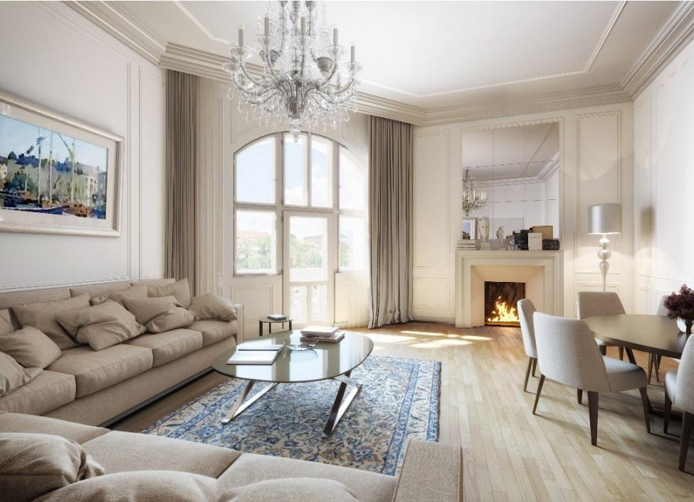 Luxusní byt v centru Prahy 63m 0