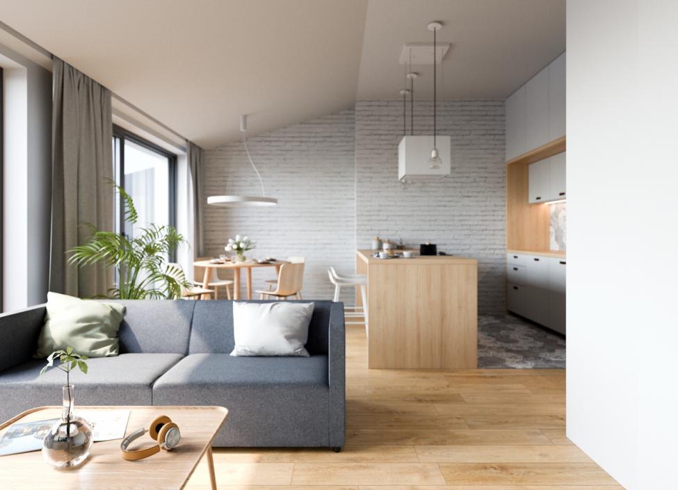 Luxusní byt na Vinohradech na prodej - 63m 1