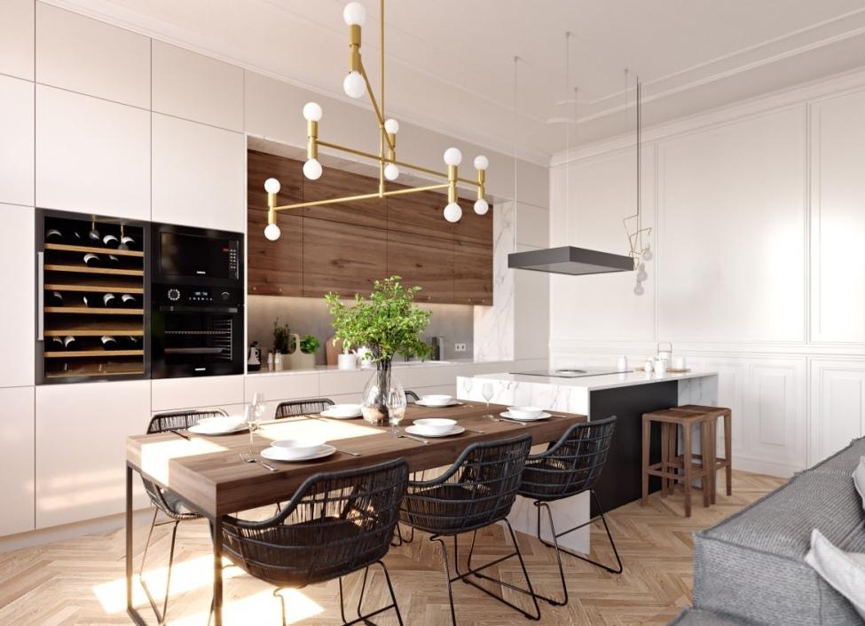 Luxusní byt na Praze 3 - 128m 0