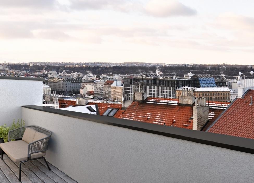 Mezonetový byt Praha 3 - 114m 1