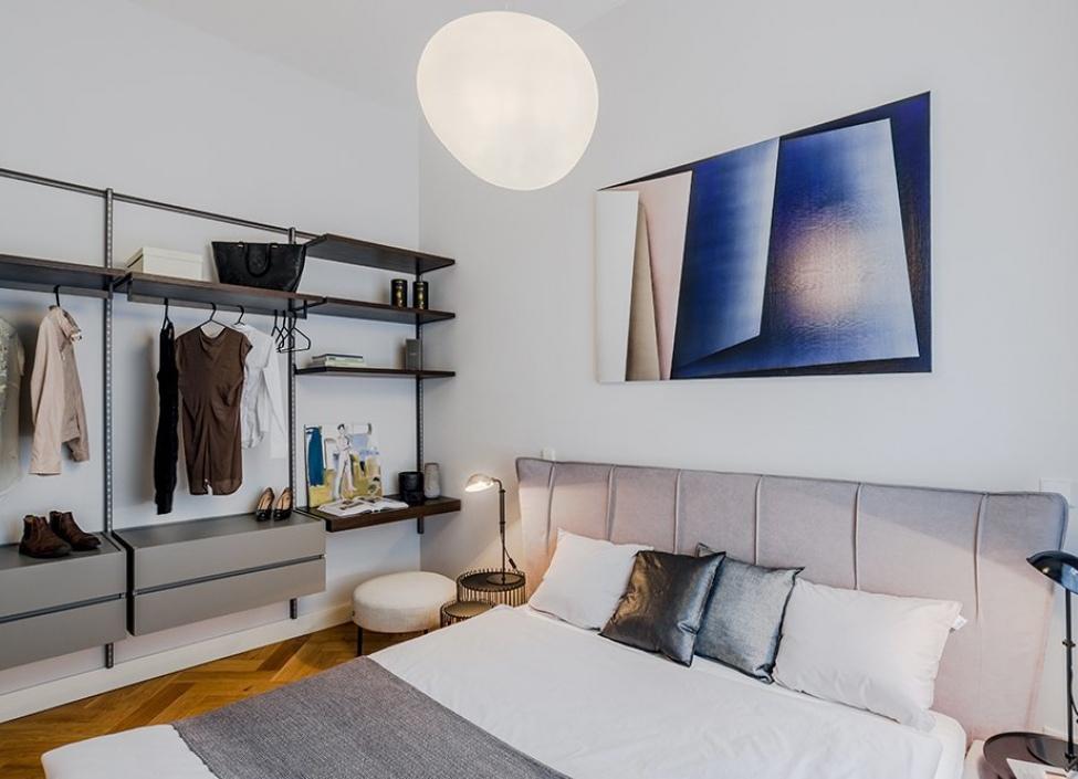 Luxusní byt s balkonem na pronájem Praha 1 - 112m 1
