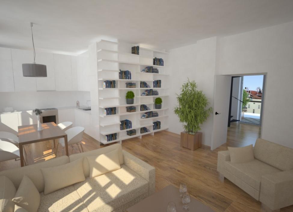 Luxusní byt na prodej u Stromovky 45m 1