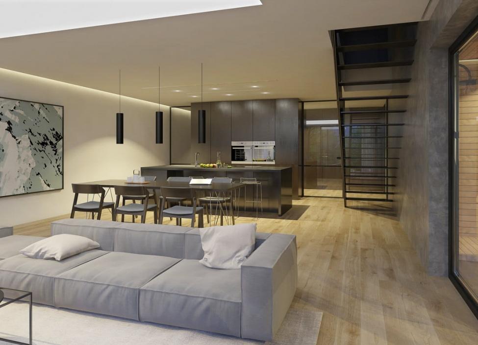 Luxusní duplex na prodej - Praha 5 - Smíchov - 234m 1