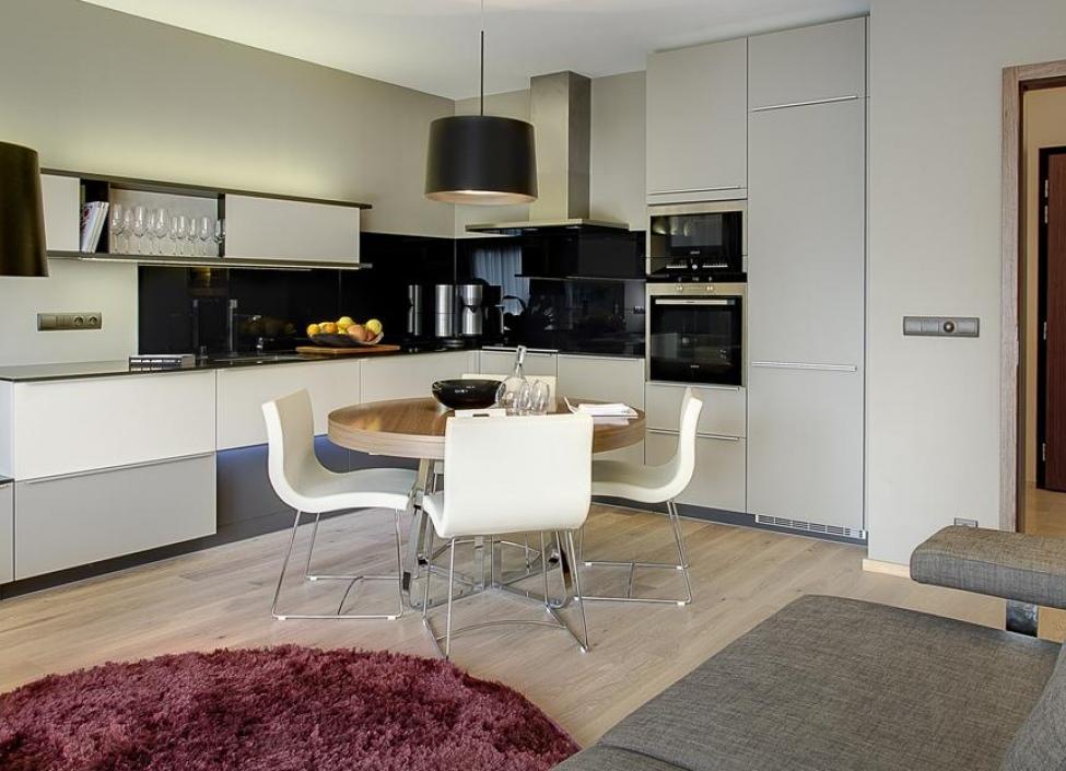 Luxusní byt s balkonem 61m 1