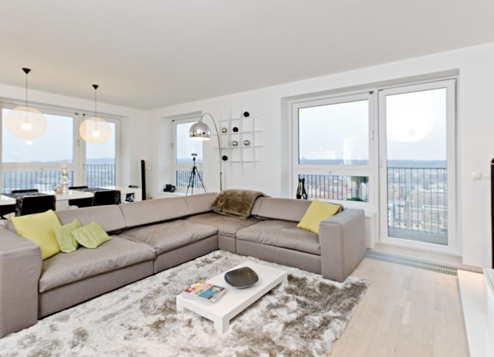 Luxusní byt s výhledem 360° na Prahu 1