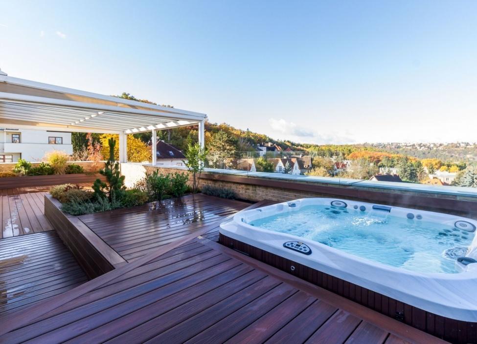 Luxusní penthouse s wellness zónou na prodej Praha 4 0