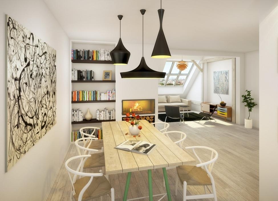 Luxusní byt s terasou a výhledem na Pražský hrad, 166m 0