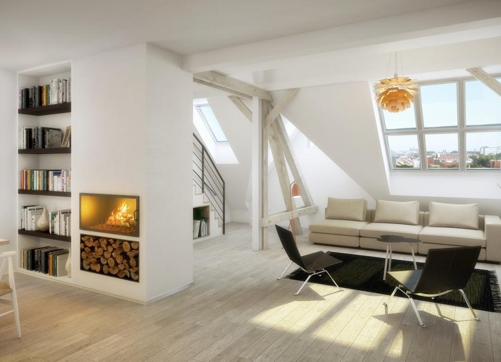 Luxusní byt s terasou a výhledem na Pražský hrad, 166m 1