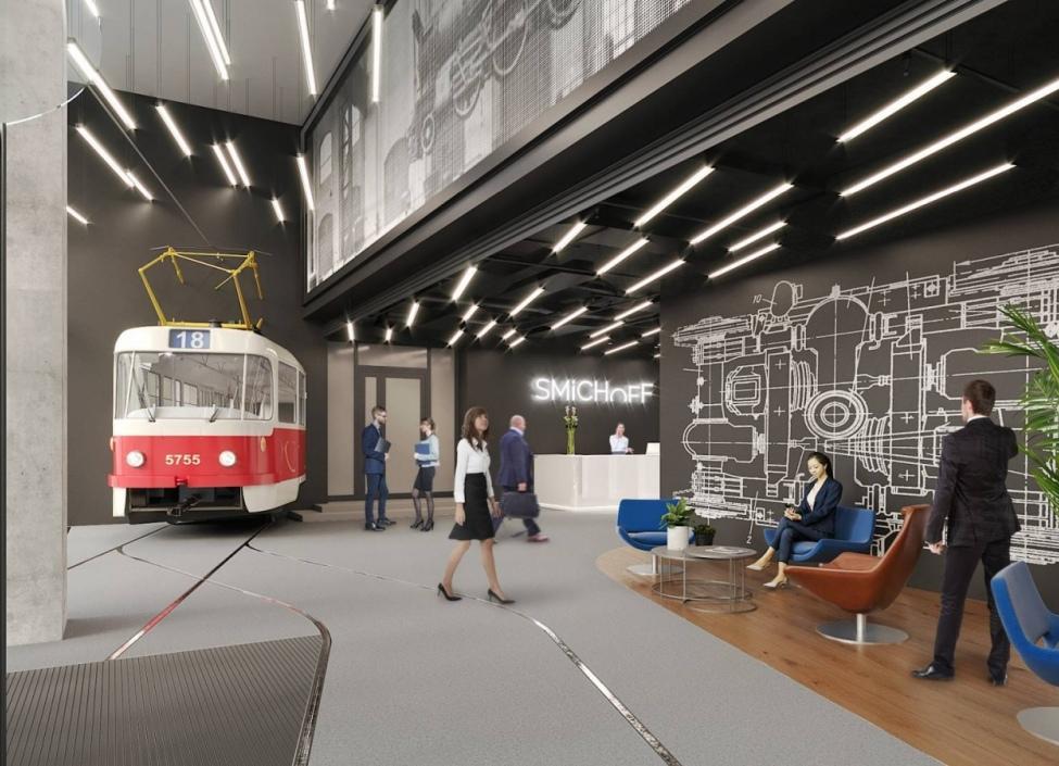Moderní kanceláře k pronájmu, Praha 5 - 274m2 0