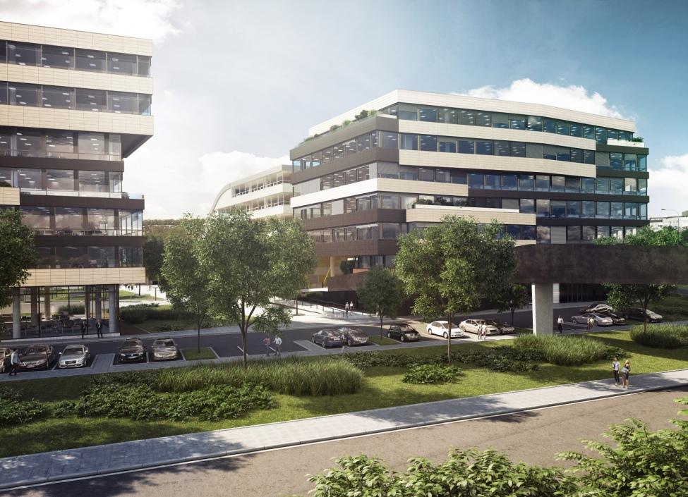 Moderní kanceláře k pronájmu, Praha 8 - 483 m2 1